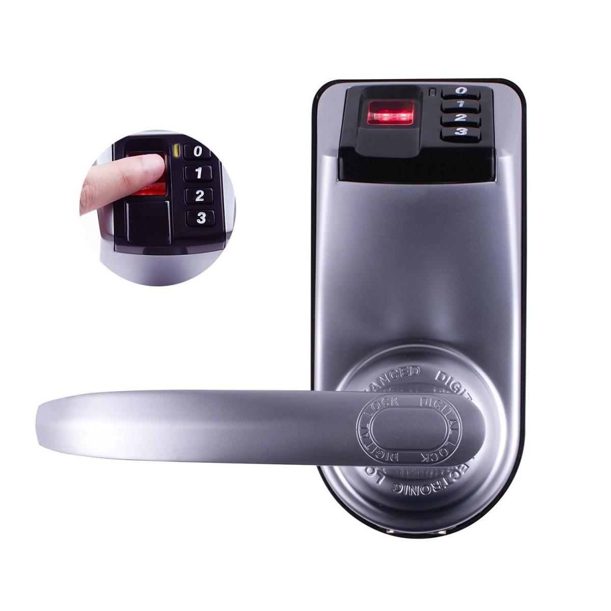 Adel 3398 Fingerprint Digital Door Lock Jal Electricals