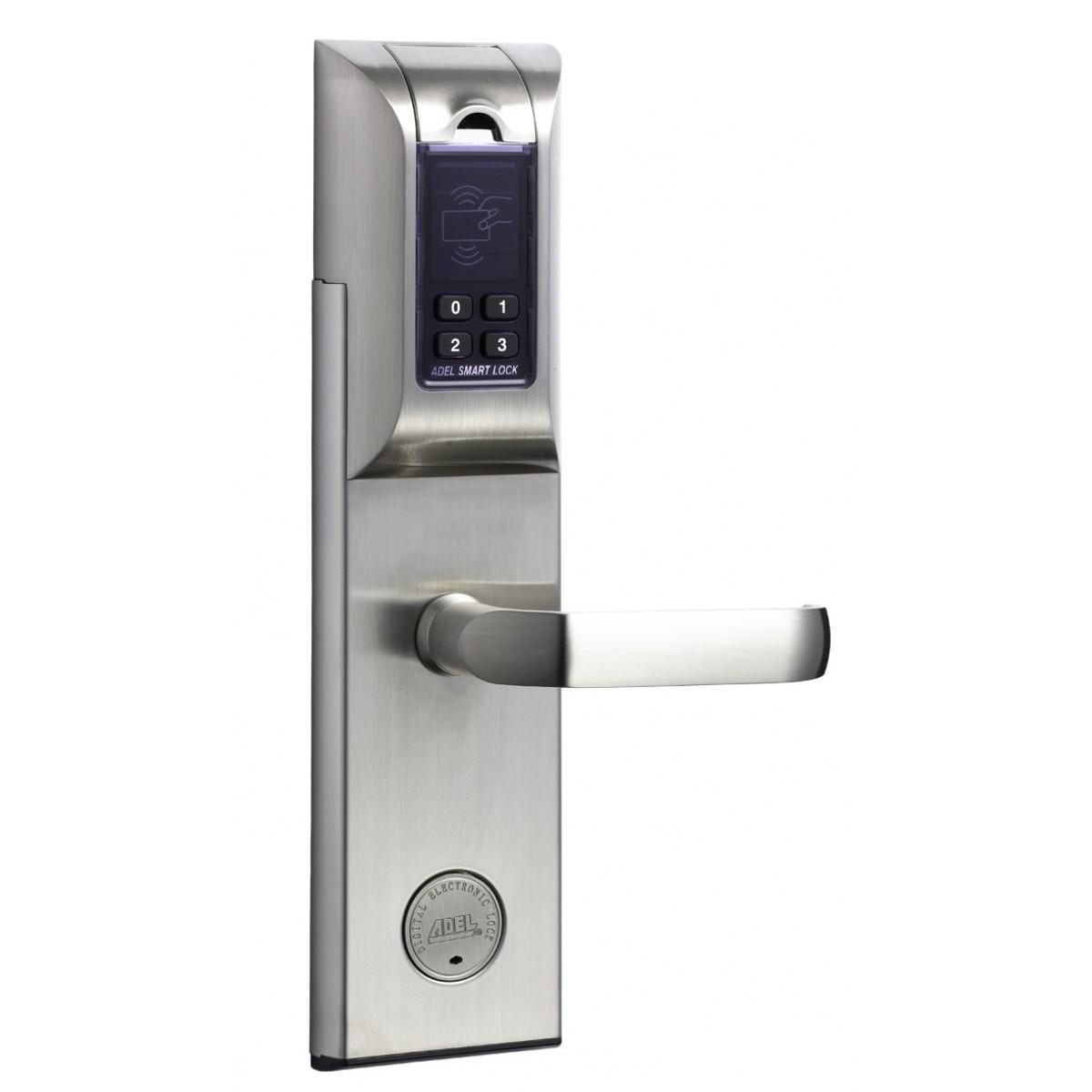 Adel 4920 Fingerprint Digital Door Lock Ss Jal Electricals