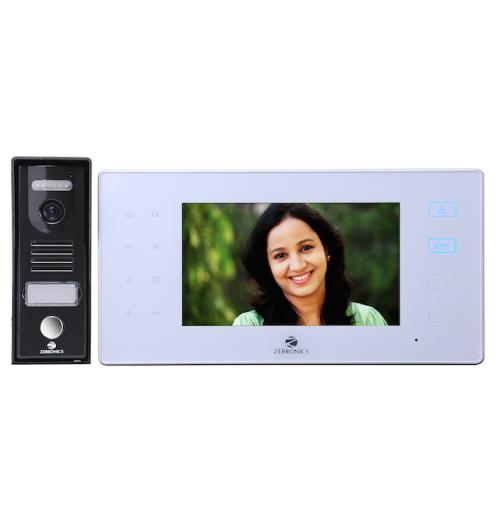 Zebronics Video Door Phone with Auto Recording