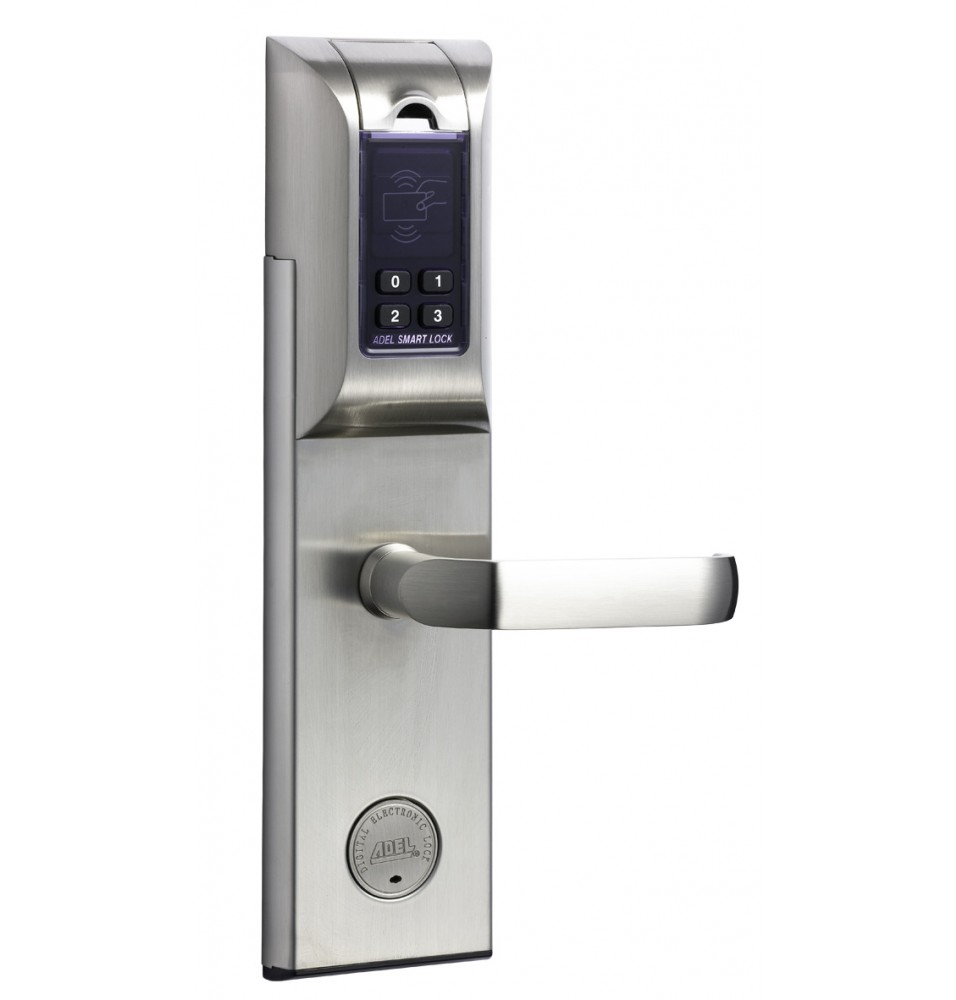 Adel-4920 Fingerprint Digital Door Lock (SS)