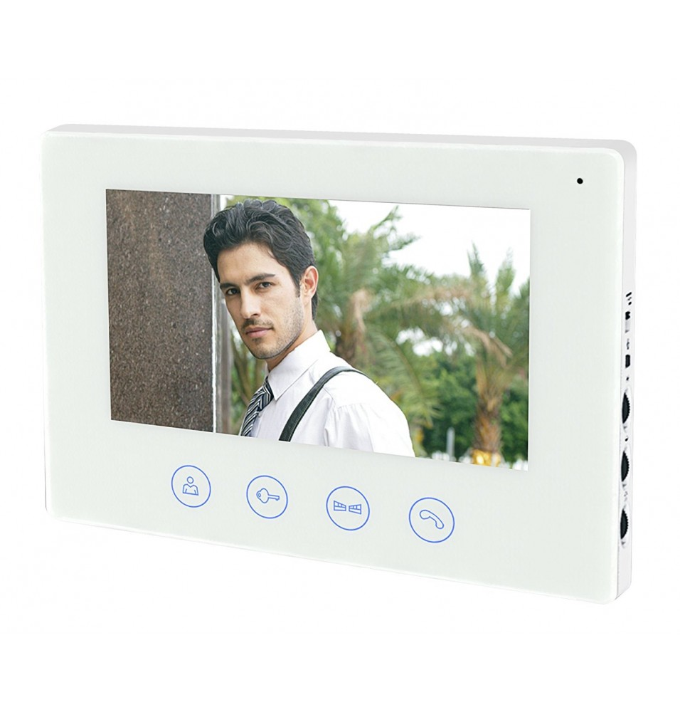 "RL-B17CWIFI 7"" WIFI VIDEO DOOR BELL WITH MOBILE PLATFORMS ( Android & IOS )"