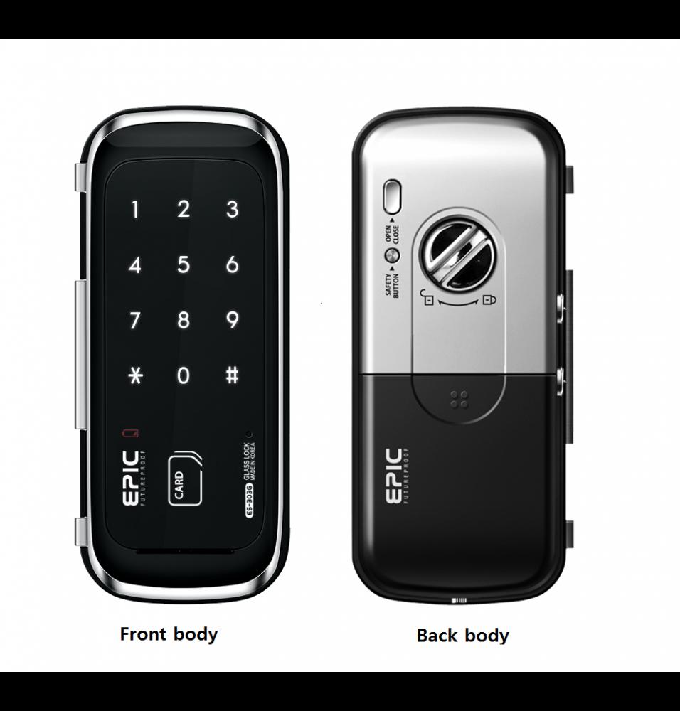 ES-303G(Glass Type) 2way via password, smart card