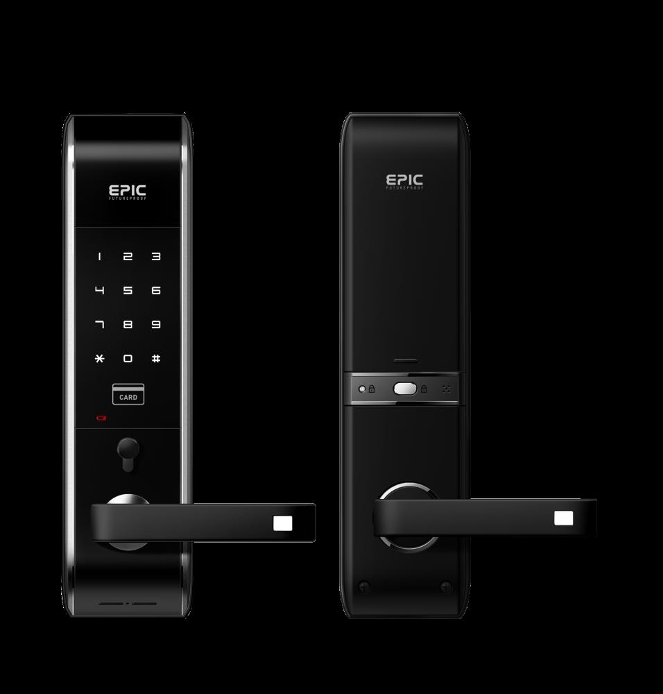 ES-809L 3way via password, smart card & emergency keys