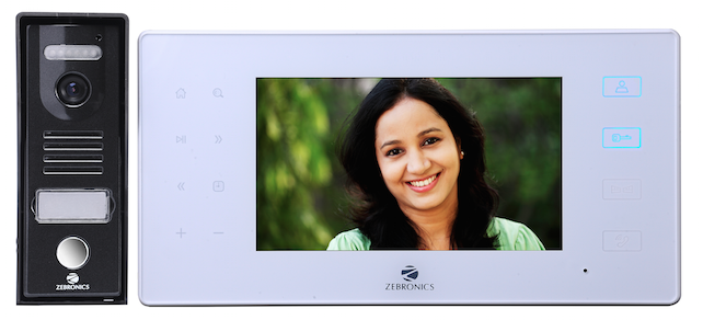 Zebronics Video Door Phone with Auto Recording