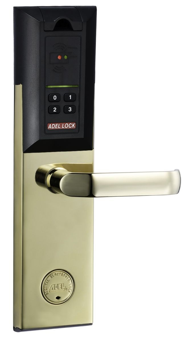 Adel-4910 Gold Fingerprint Digital Door Lock