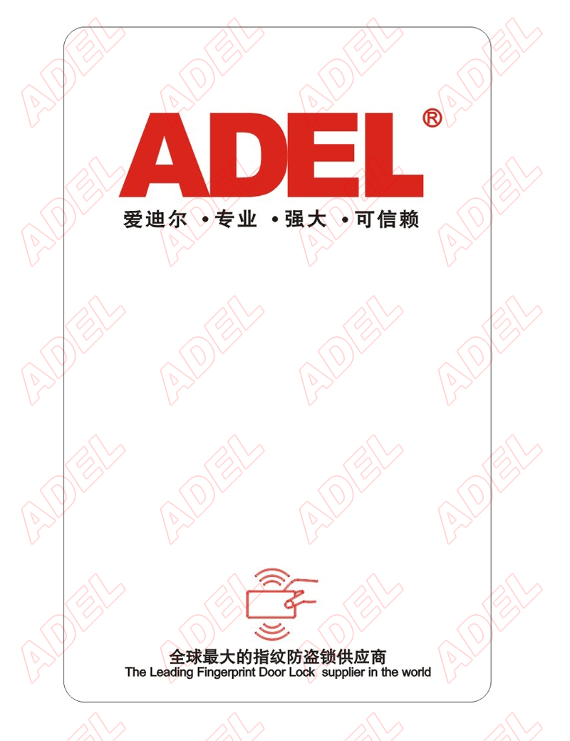 ADEL Query card ( One Set of 2 Pcs )