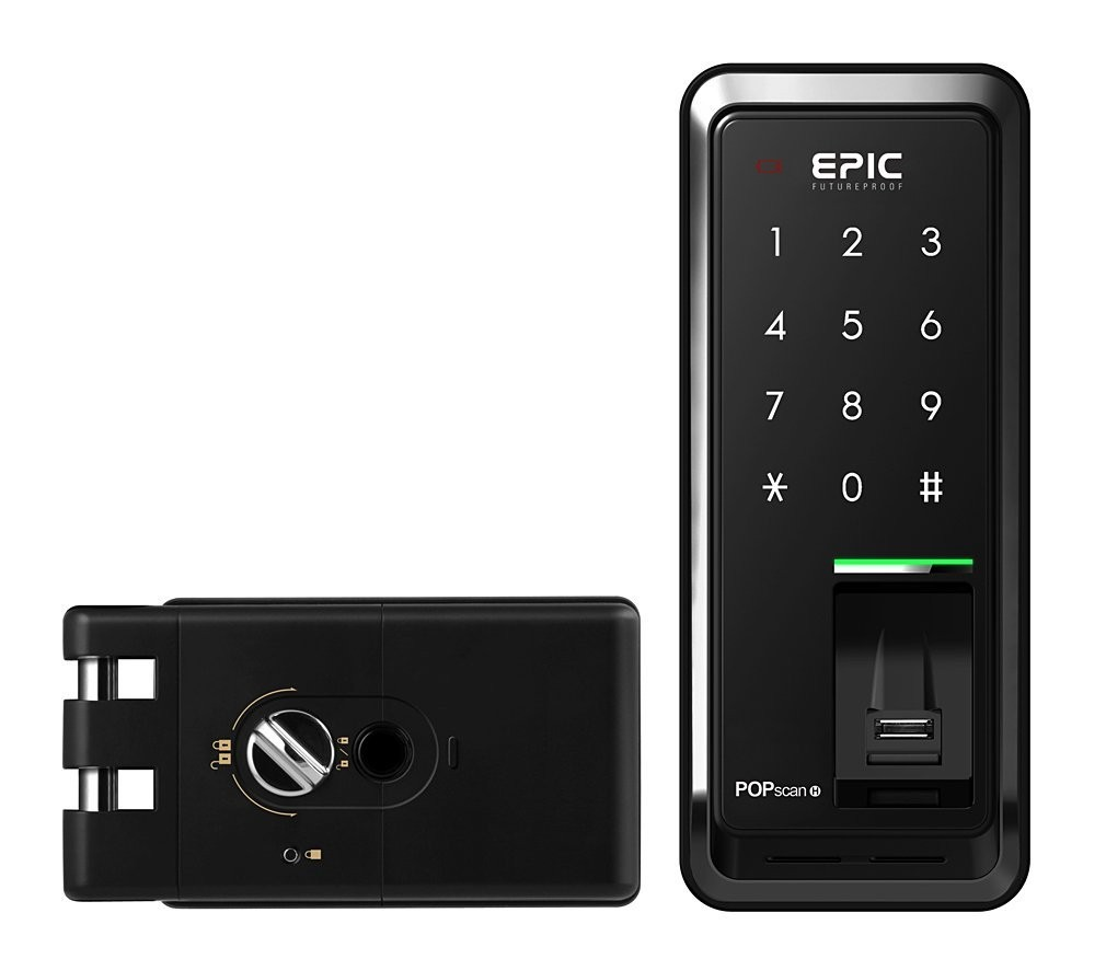 POPscan_H Fingerprint, Password - Sliding/ Double / Normal Door