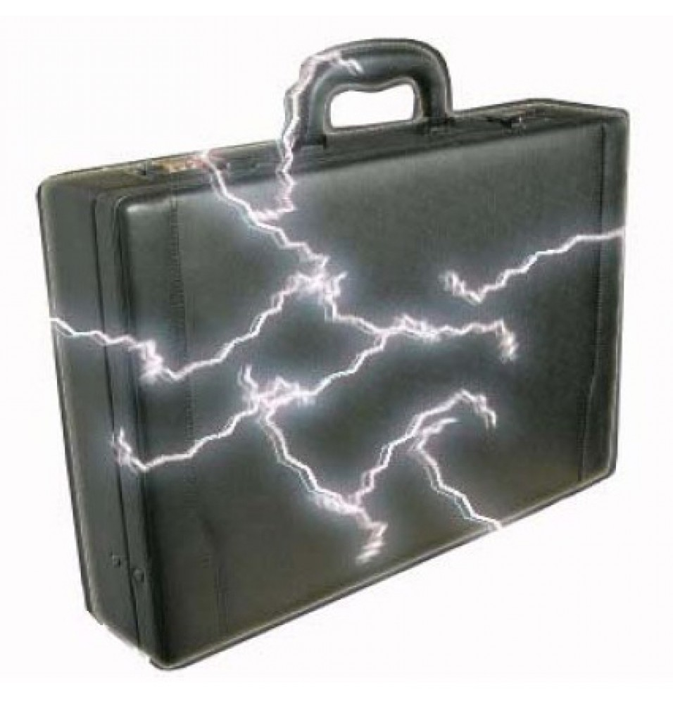 Safety Suitcase Genuine Leather