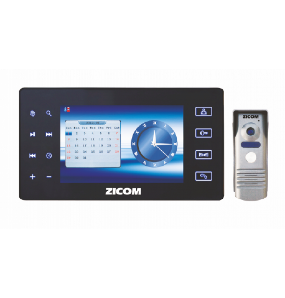 """7"""" VDP (COLOUR) HANDSFREE WITH AUTOMATIC AUDIO VIDEO RECORDING"""