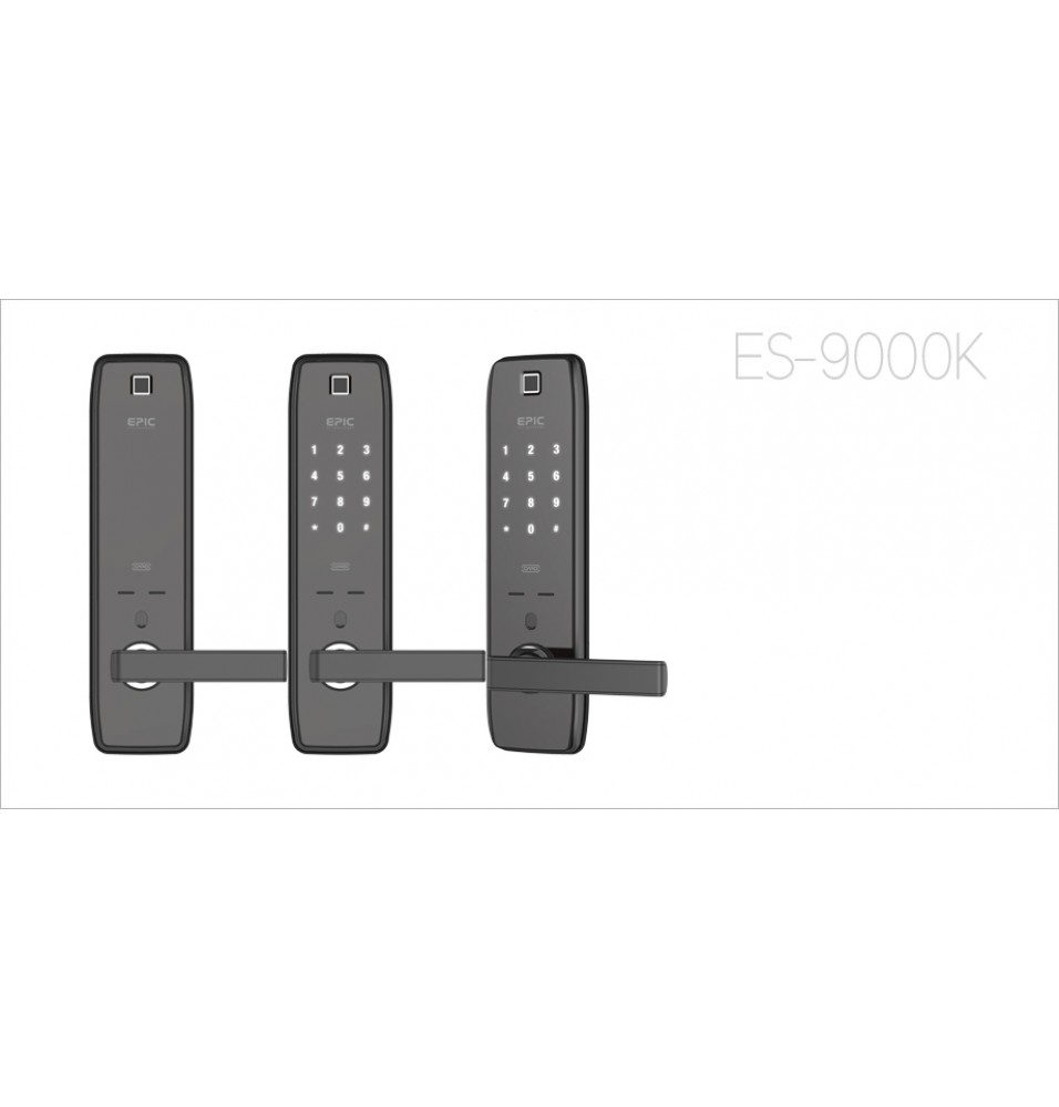 ES-9000K 4way via fingerprint, password, smart card & emergency keys