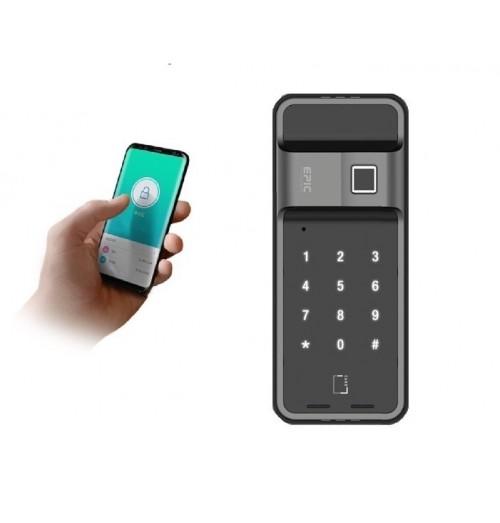 Es F300d 4way Via Fingerprint Password Smart Card